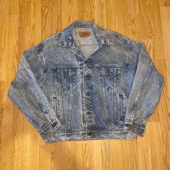 Vintage 80s Levi Denim Jacket
